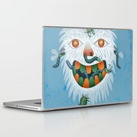 yeti Laptop & iPad Skins featuring Yeti by Santiago Uceda