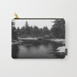 Up The Black Stream Carry-All Pouch