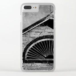 Barn Detail Clear iPhone Case