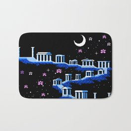 Greek Sanctuary in Pegasus Constellation Bath Mat