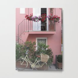 A Day in the Life - Capri, Italy Metal Print