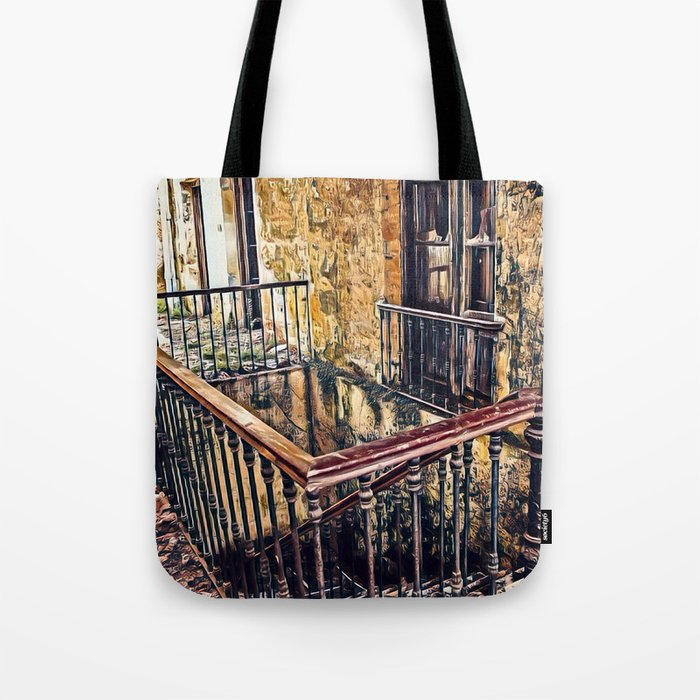 Mystery Place Tote Bag