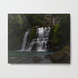 Nauyaca Waterfalls Metal Print