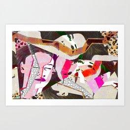 WEMAN Art Print