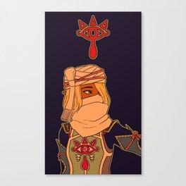 hyrule warriors sheik Canvas Print