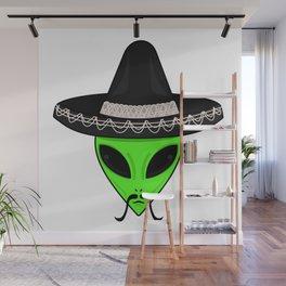 Intergalactic Immigrant Wall Mural