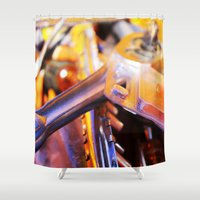 tool Shower Curtains featuring Tool Box by AlyssasMangos