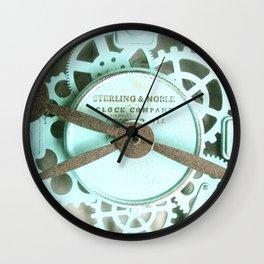 Clockwork Aqua Wall Clock