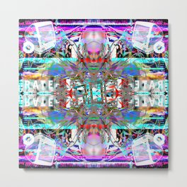 RATE RAVE Metal Print