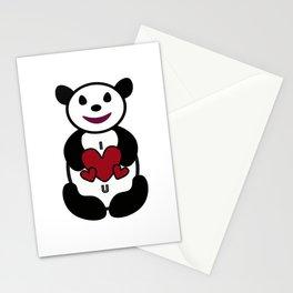 panda love Stationery Cards