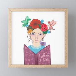 The Book of Fairies Framed Mini Art Print