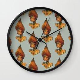 lava fairy Wall Clock
