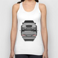 car Tank Tops featuring Car by IrvSim