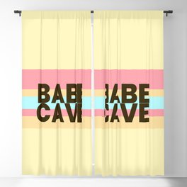 Babe Cave Creamy Spring Blackout Curtain