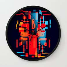 Abstract Composition #1 Wall Clock