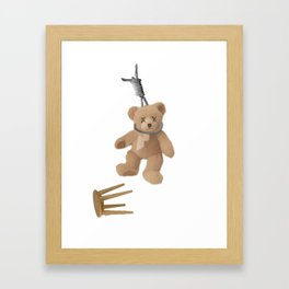 Teddys Hanging around... Framed Art Print