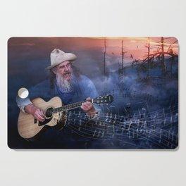 Folk Music In The Hills Cutting Board