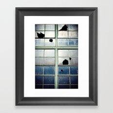 Broken Cross Framed Art Print