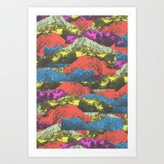 Cosmic Caravan Art Print