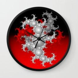 Mandelbrot bubbles Wall Clock