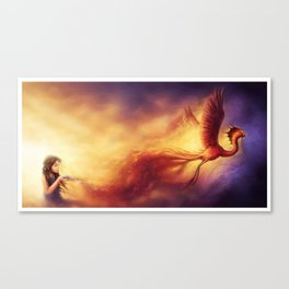 """Born from the Ashes"" Canvas Print"