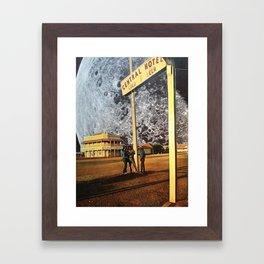 Central Hotel Framed Art Print