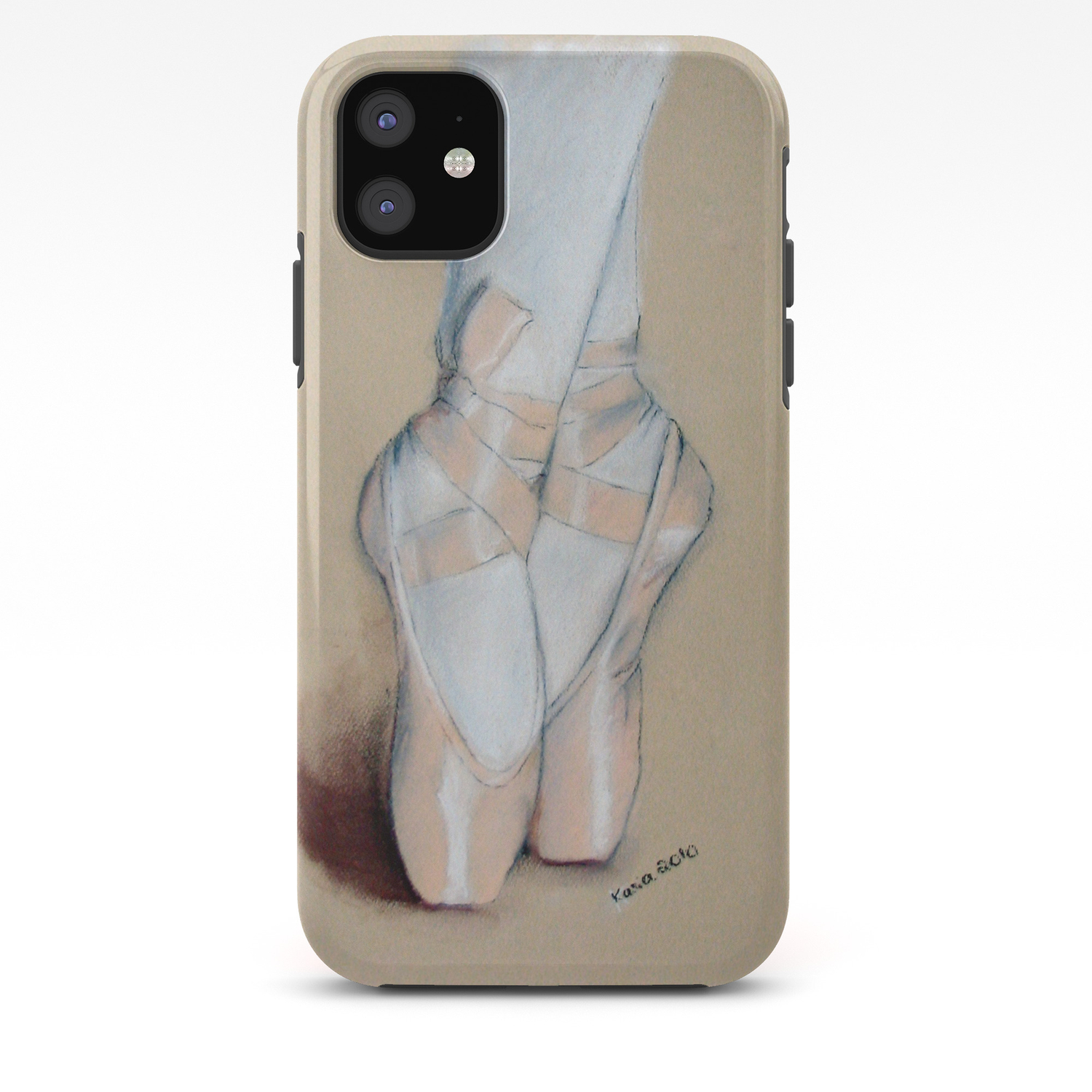 Ballet Pointe Shoes Iphone Case By Feelingartsy Society6