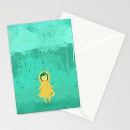 Rain friends Stationery Cards