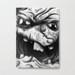 Rogues Gallery - Clayface Metal Print