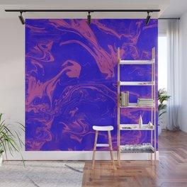 Adrift - Abstract Suminagashi Marble Series - 02 Wall Mural