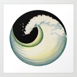 Earth Tide Art Print