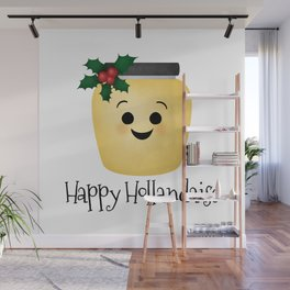 Happy Hollandaise Wall Mural