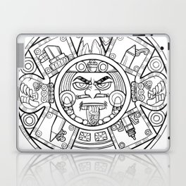 Pencil Wars Shield Laptop & iPad Skin