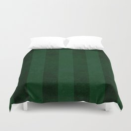 Emerald Stripes Duvet Cover