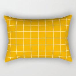 Marigold Grid Rectangular Pillow
