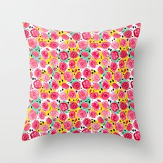 The Roses You Forgot Throw Pillow