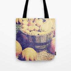 Fall Pumpkins Tote Bag