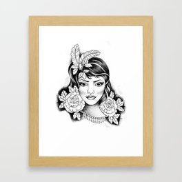 Rosely Framed Art Print