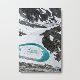 Lakes of Frémamorte Metal Print