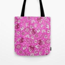 Pink Eight Ball Tote Bag