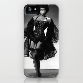 Iconic Images: Miss Topsy iPhone Case