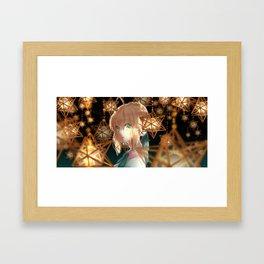Saber Fate/Stay Night Framed Art Print