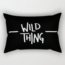 Wild Thing: Skagit Valley, Washington Rectangular Pillow