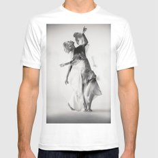 Dance Mens Fitted Tee MEDIUM White