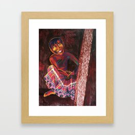 """Joy"" Framed Art Print"