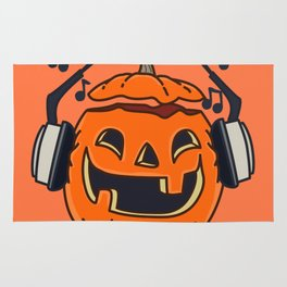 Halloween music Rug