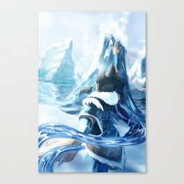 Changing Currents Canvas Print