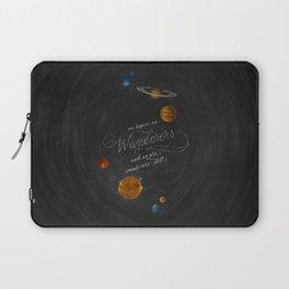 Wanderers - Carl Sagan Laptop Sleeve