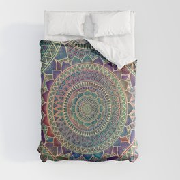 Lotus Mandala 3 Comforters