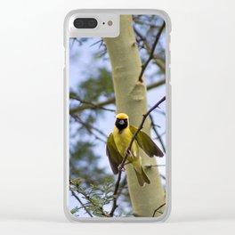 tree bird Clear iPhone Case